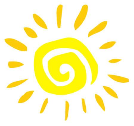 Abstract Sun  Stock Vector - 7260326