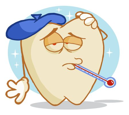 convalescence: Tooth Decay Cartoon Character