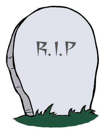 headstone: Tombstone