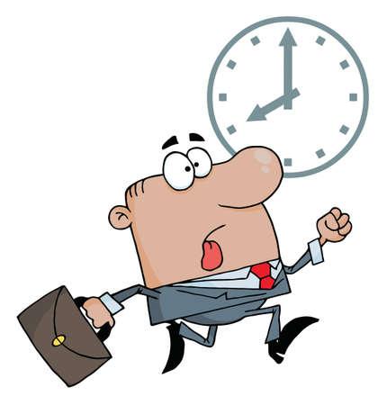 cronogramas: Hombre de negocios estadounidense ser tard�o