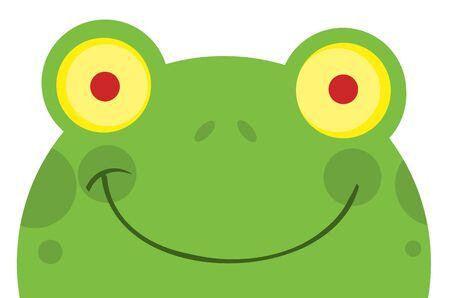 Happy Frog Cartoon Character Stock Vector - 8930254
