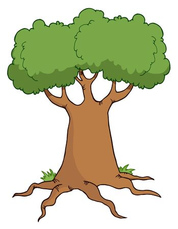 Big Cartoon Tree