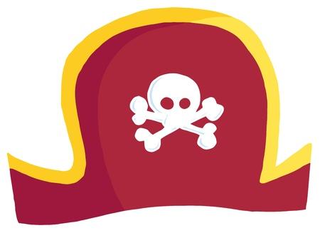 piratenhoed: Pirate Hat Stock Illustratie
