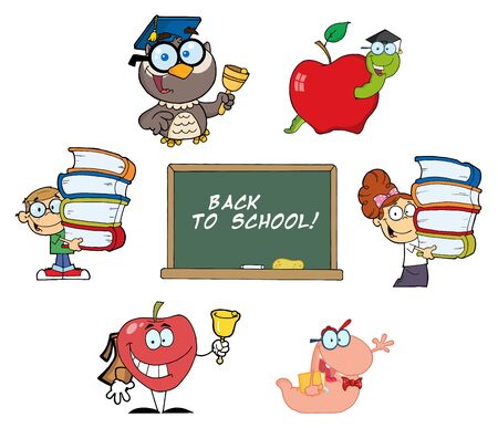 Back to School-Vector Collection Vector