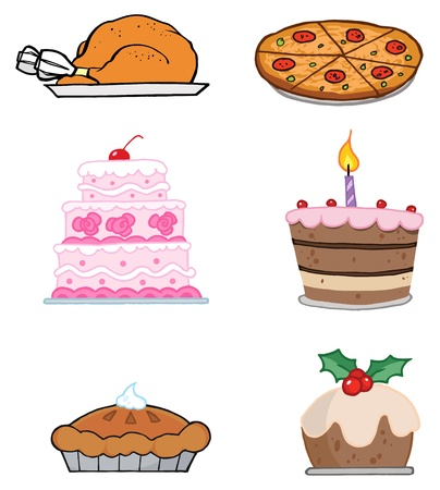 Holiday Foods Vector