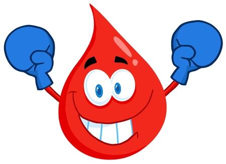 guantes boxeo: Sangre individuo llevaba guantes de boxeo