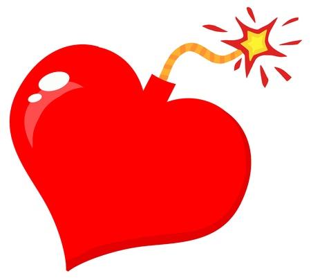 Love Bomb Stock Vector - 12352793