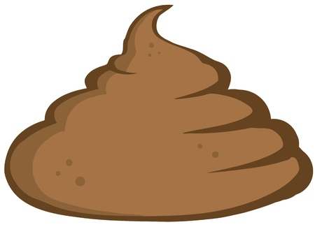Stinky Pile Of Poop Stock Vector - 12493185