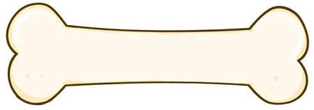 dog biscuit: Dog Bone Illustration