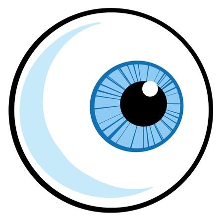 눈알: 눈 공