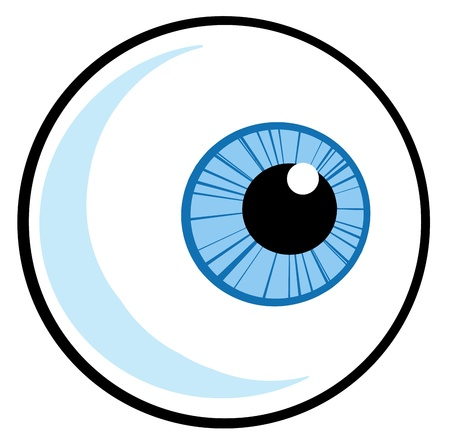 one eye: Eye Ball