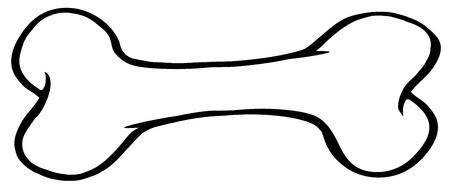 hueso de perro: Perro se indica ósea