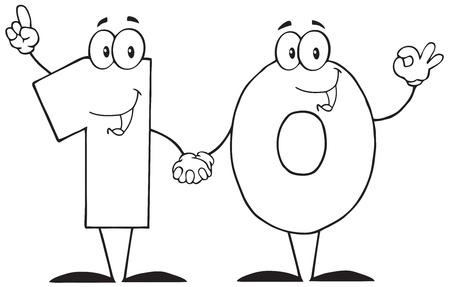 numero diez: Algunos explicaron diez dibujos animados