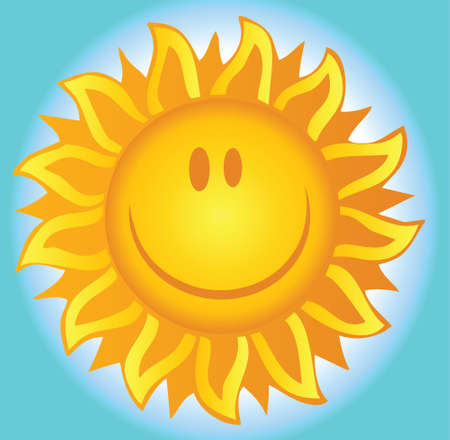 sun energy: Smiling Summer Sun