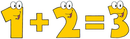numeric character: Number 1 Plus Number 2