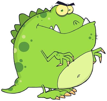 paleontological: Dinosaur Cartoon Character