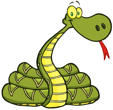 Snake Cartoon Character Stock Vector - 15431614