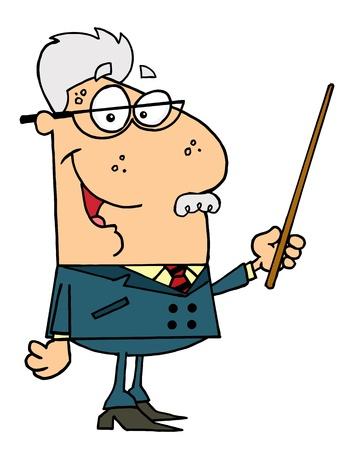 renders: Senior Professor Man