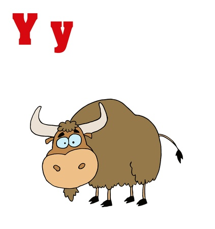 yak: Yak With Letters Y