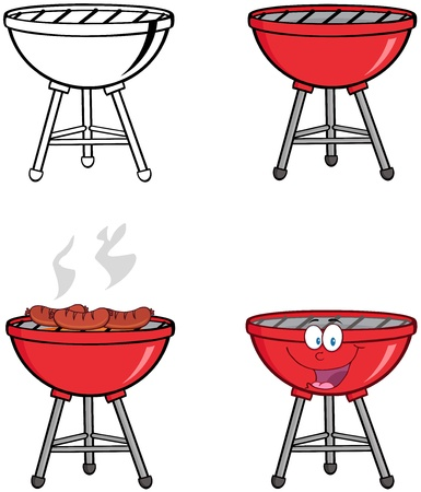 Barbecue s Collection Vector