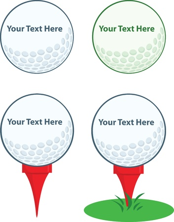 golf tee: Golf Ball With Tee Collection