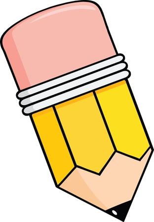 鉛筆漫画  イラスト・ベクター素材