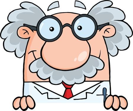 Wissenschaftler oder Professor Over Anmelden