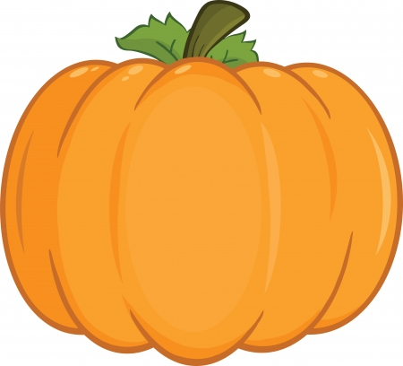 Pumpkin Cartoon Illustration
