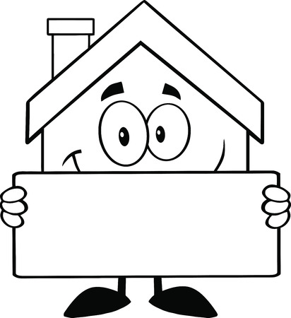 House Cartoon Images Black And White Back And White House Cartoon