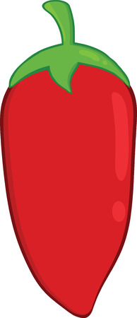 Red Chili Pepper Illustration Vector