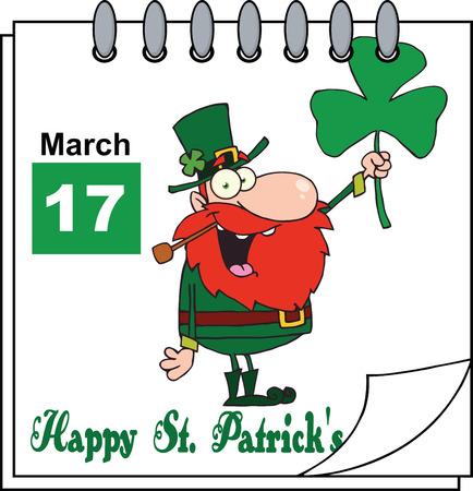 st patricks day: St  Patricks Day Calendar