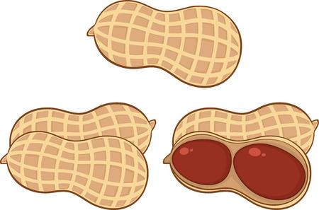漫画のピーナッツのセットのコレクション