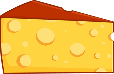 art product: Cartoon Wedge Of Cheese