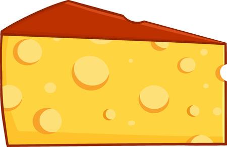 wedge: Cartoon Wedge Of Cheese