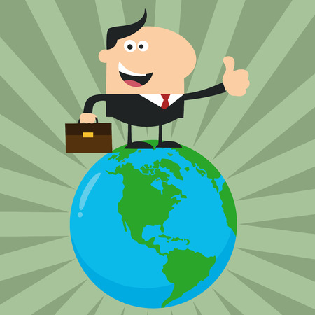 flat earth: The Best Manager On The World.Flat Style