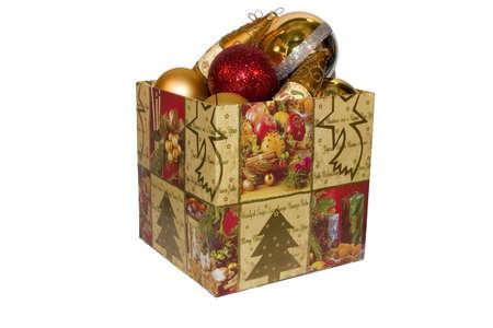 adorning: New-Year tree decorations