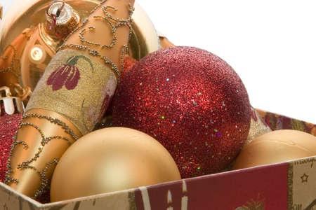 adorning: Christmas-tree decorations