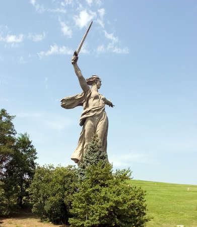 volgograd: World War II Memorial in Volgograd Russia