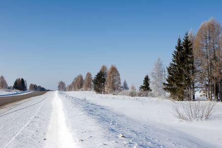 Winter landscape Stock Photo - 584478