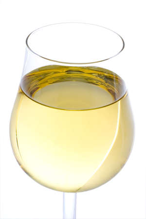 white wine glass: White wine glass Stock Photo