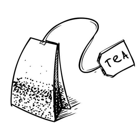 afternoon: T� bolsa con etiqueta