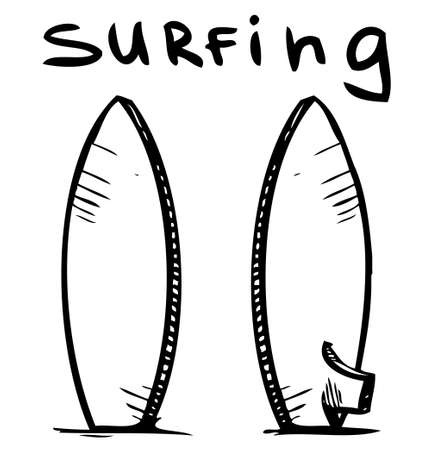 Surfing board