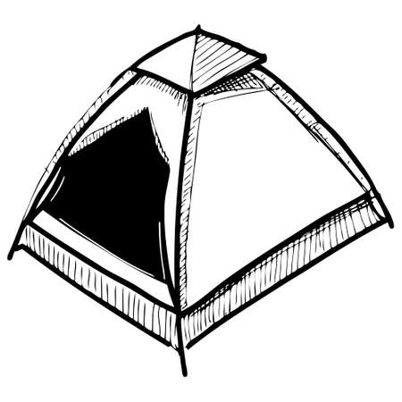 shelter: Camping tent