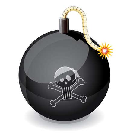 glossiness: Pirate black glossiness bomb