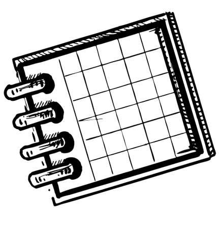 Organizer or planner Stock Vector - 18010362