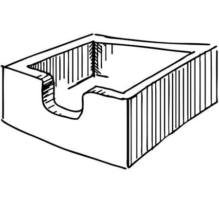 file box: File box or case icon Illustration