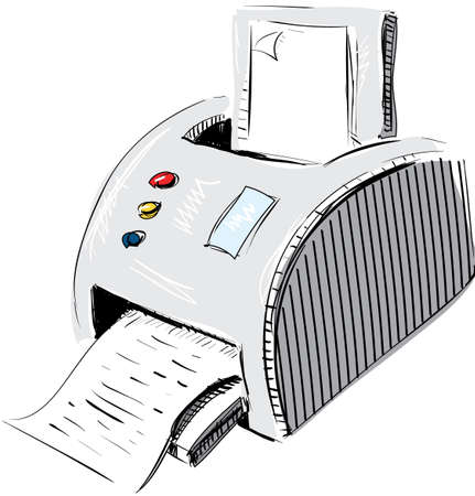 Print device Illustration