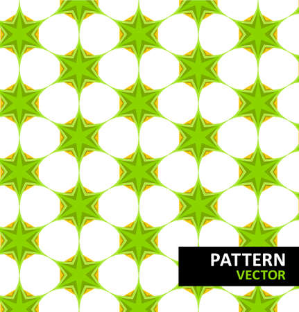 Abstract geometric floral pattern Stock Vector - 18010640