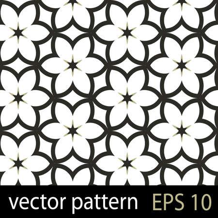 japanese pattern: Floral pattern