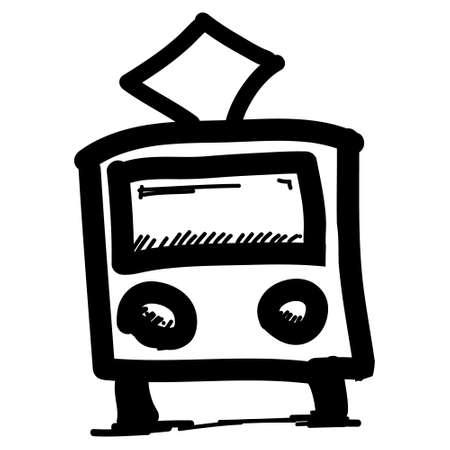 Public transport pictogram Stock Vector - 18031094